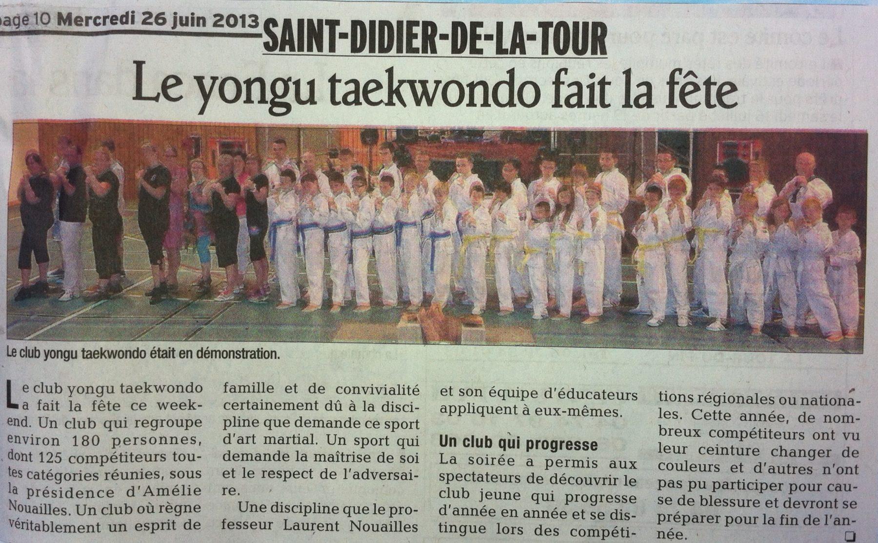 Le Dauphiné Libéré du mercredi 26 juin 2013