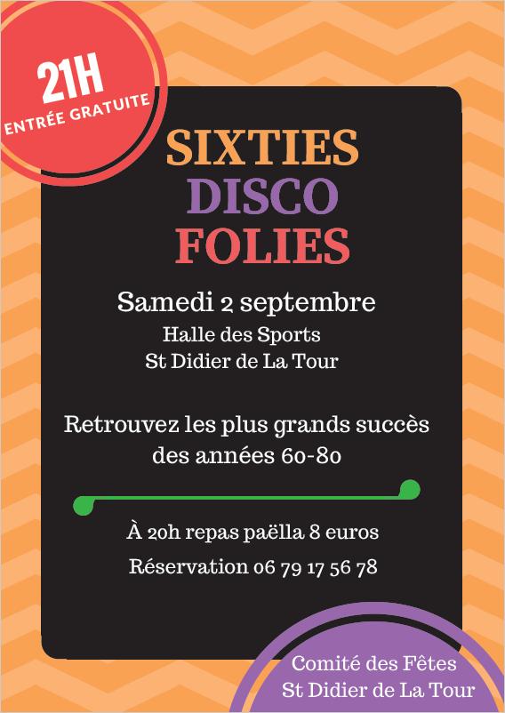 sixties disco folies