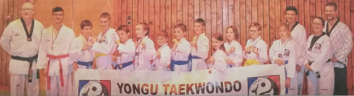 le Dauphiné libéré - Dimanche 25 Mars 2018 - Le club Yongu Taekwondo en compétition