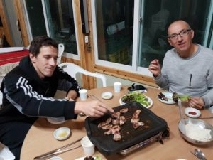 Yongu Taekwondo - Voyage et stage Corée du Sud - Jour 5 et 6 - Stage Hapkido chez Grand Maitre Ju Ung Seo