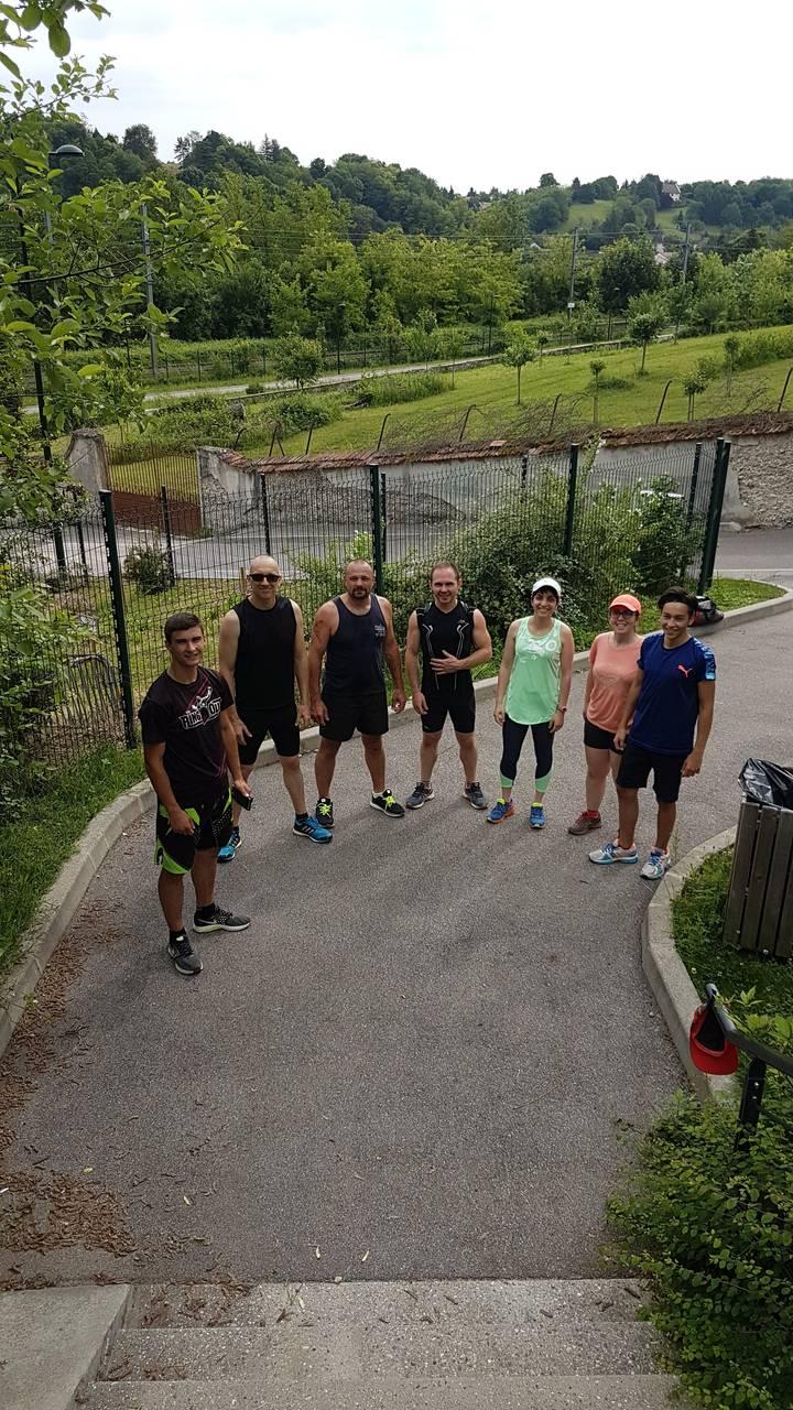 Jogging et escaliers - samedi 26 mai 2018