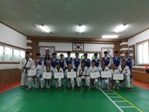 Voyage stage Taekwondo et Hapkido