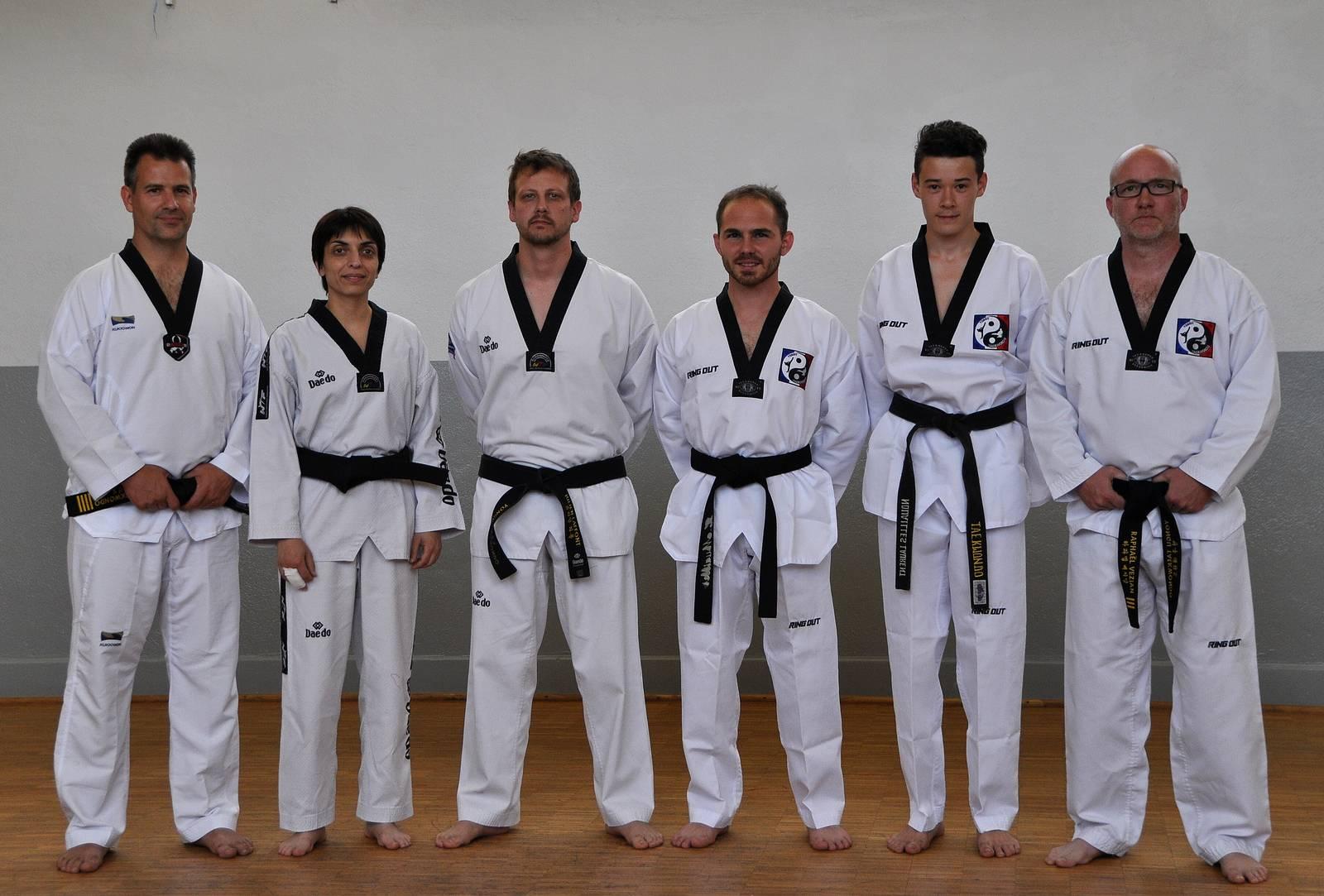 Quatre nouvelles ceintures noires